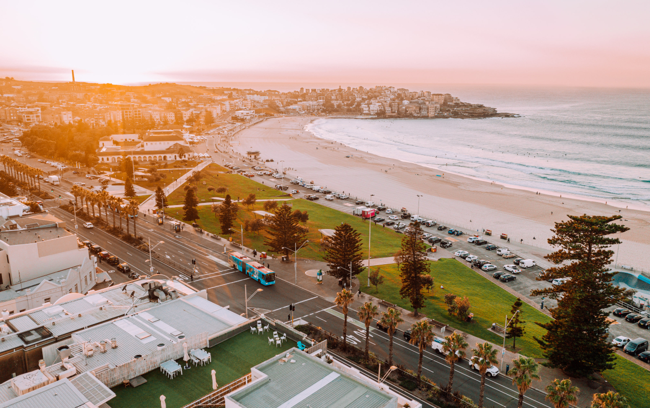 Drone of Bondi Beach