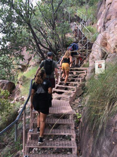 stairs, hiking