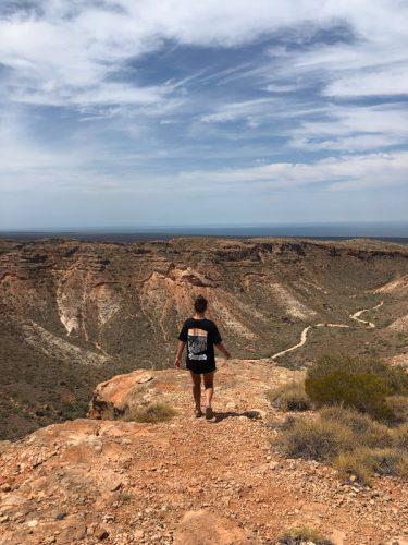 girl in outback